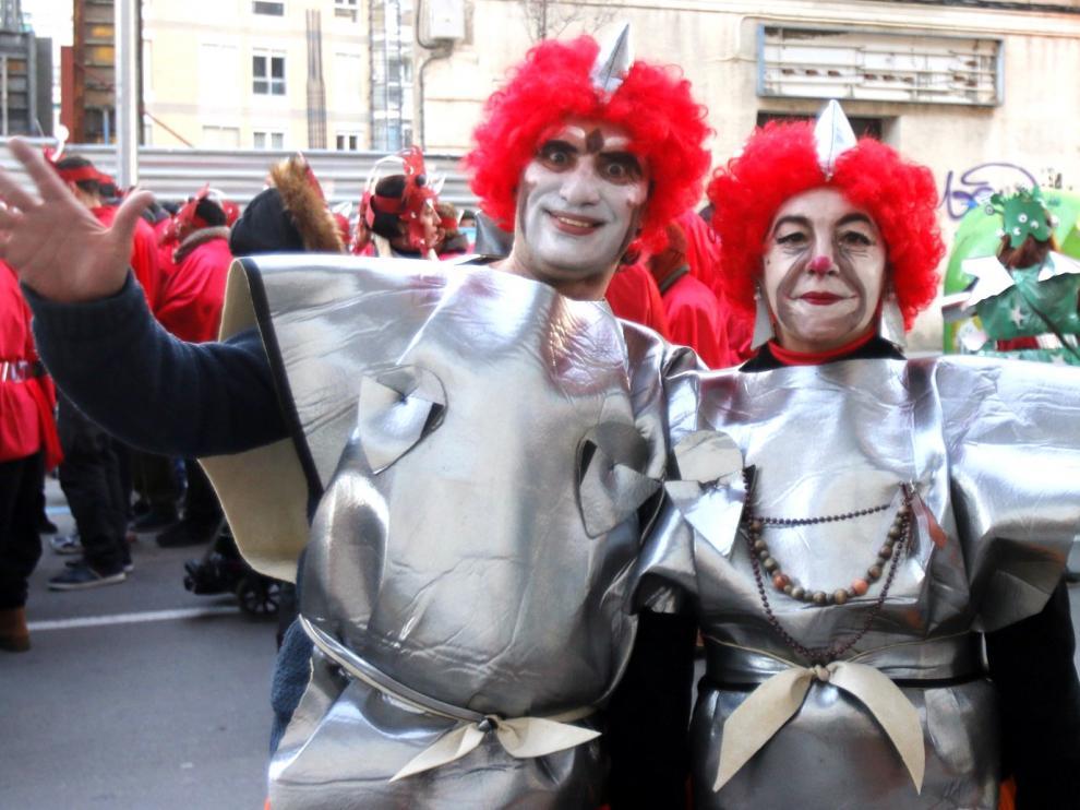 La cabalgata de Carnaval de Huesca bate récord con 4.000 inscritos