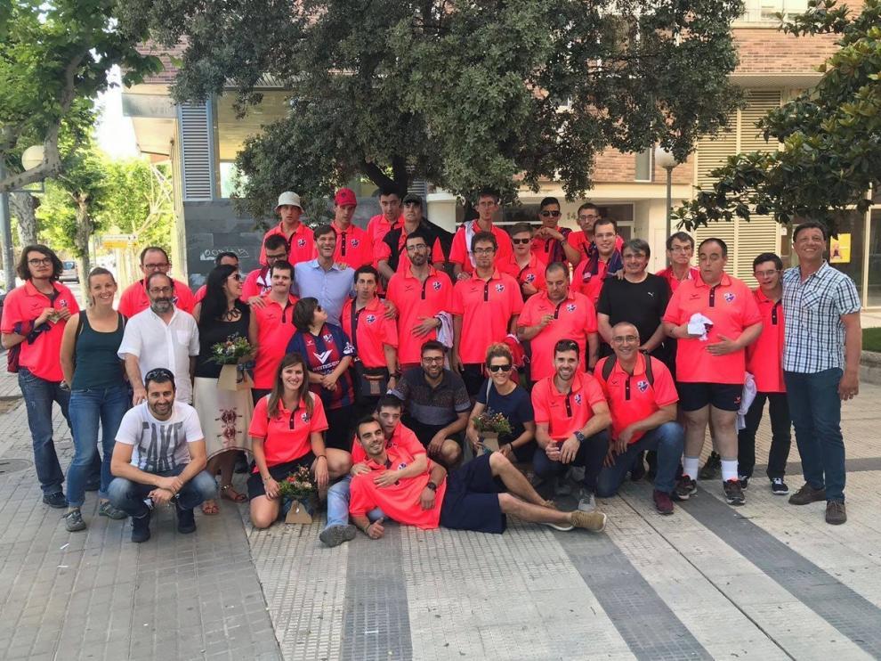 El equipo Genuine de la SD Huesca, preparado para afrontar la segunda fase