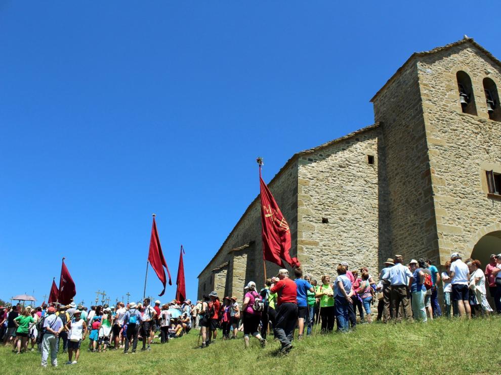 Yebra suspende sus romerías a Santa Orosia