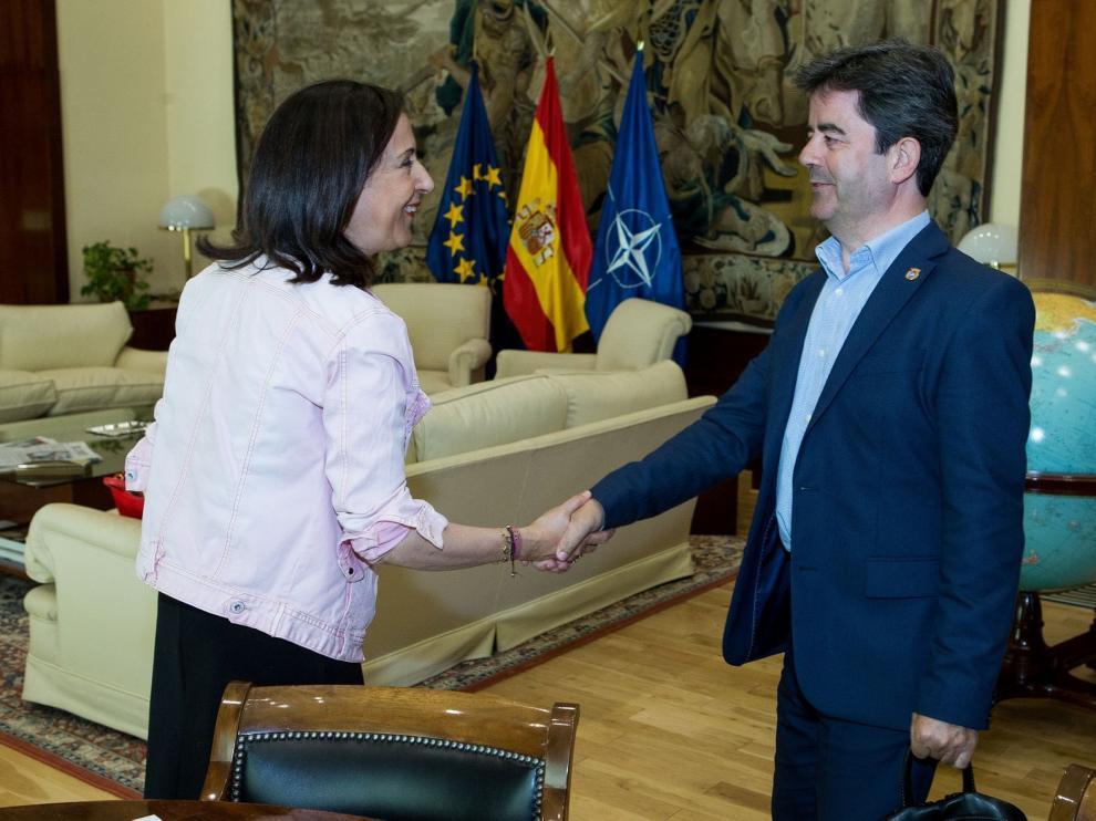 Cancelada la visita de Margarita Robles a Huesca por la proximidad de las elecciones