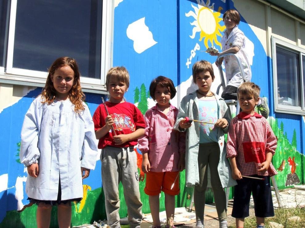 Once escuelas rurales de Huesca se mantienen con un máximo de 6 niños