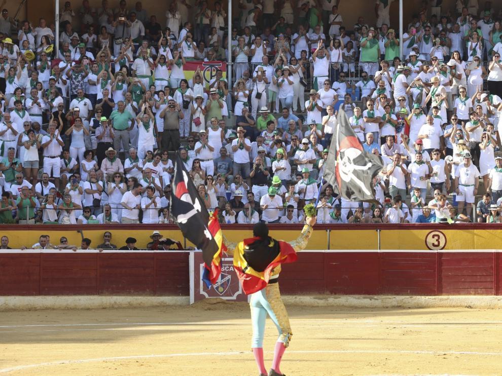 Excluida una de las tres ofertas para organizar la feria taurina de Huesca