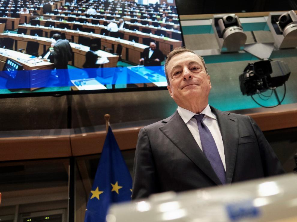 La Eurozona crecerá hasta el 1,2 % este año, según prevé el BCE