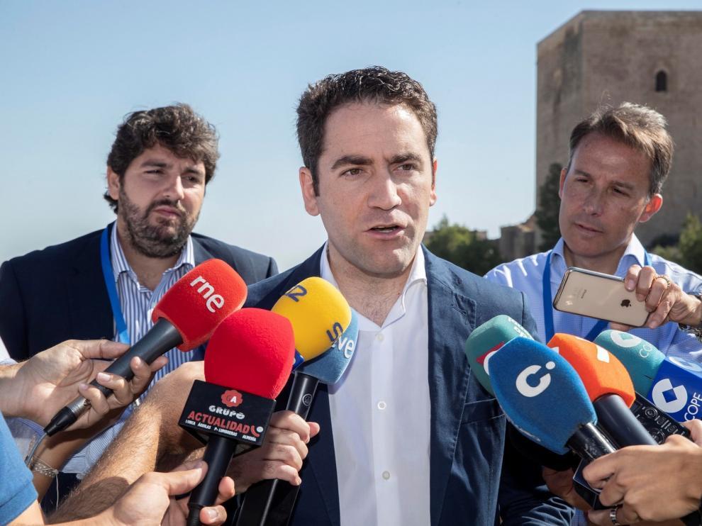 """García Egea: """"Sánchez está preparando nuevas cesiones de todo tipo para que los independentistas voten sus presupuestos"""""""