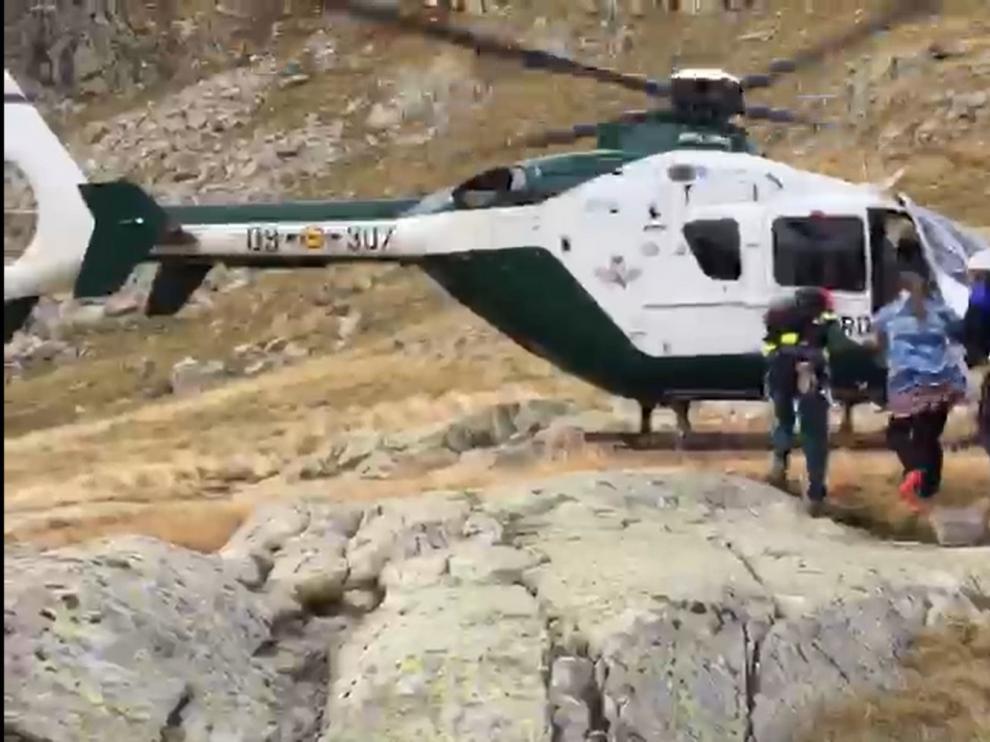 Los rescates practicados en 2018 en la provincia de Huesca registraron 25 fallecidos