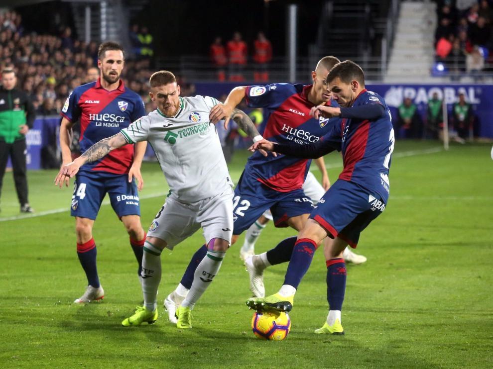 El Huesca jugará en Getafe el sábado 9 de marzo a las 20:45 horas