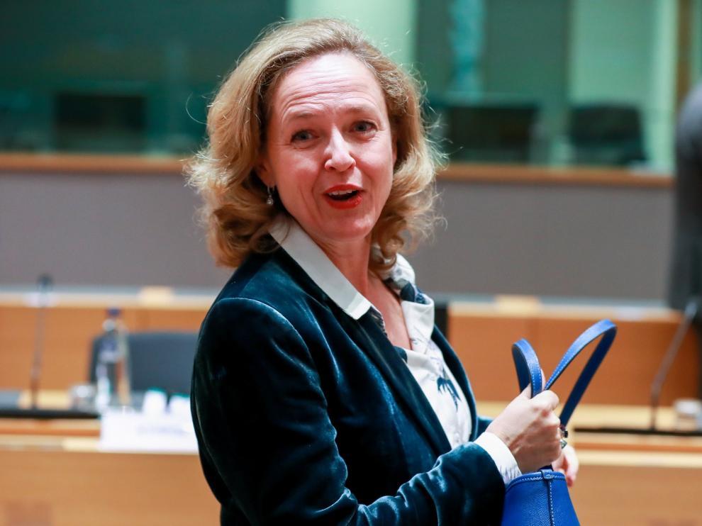 Nadia Calviño avanza que España creció más que la Eurozona