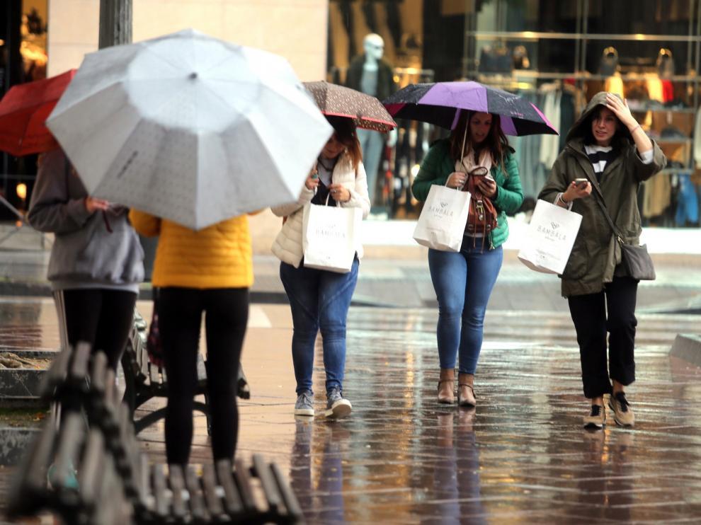 En Huesca no ha llovido en 2018 ni el 75 por ciento de lo normal