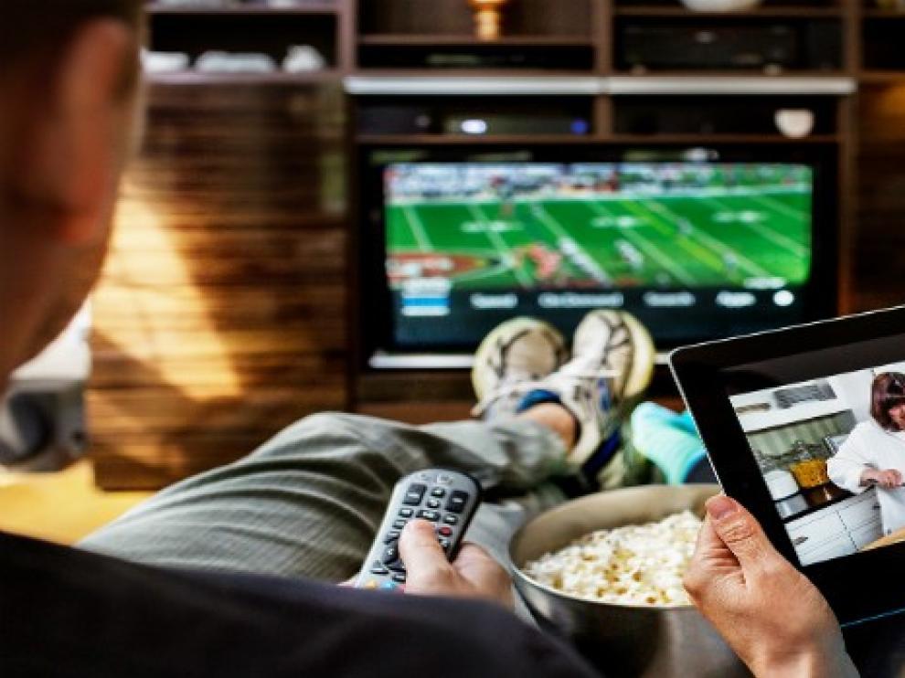 El consumo televisivo de los españoles cae 22 minutos en febrero