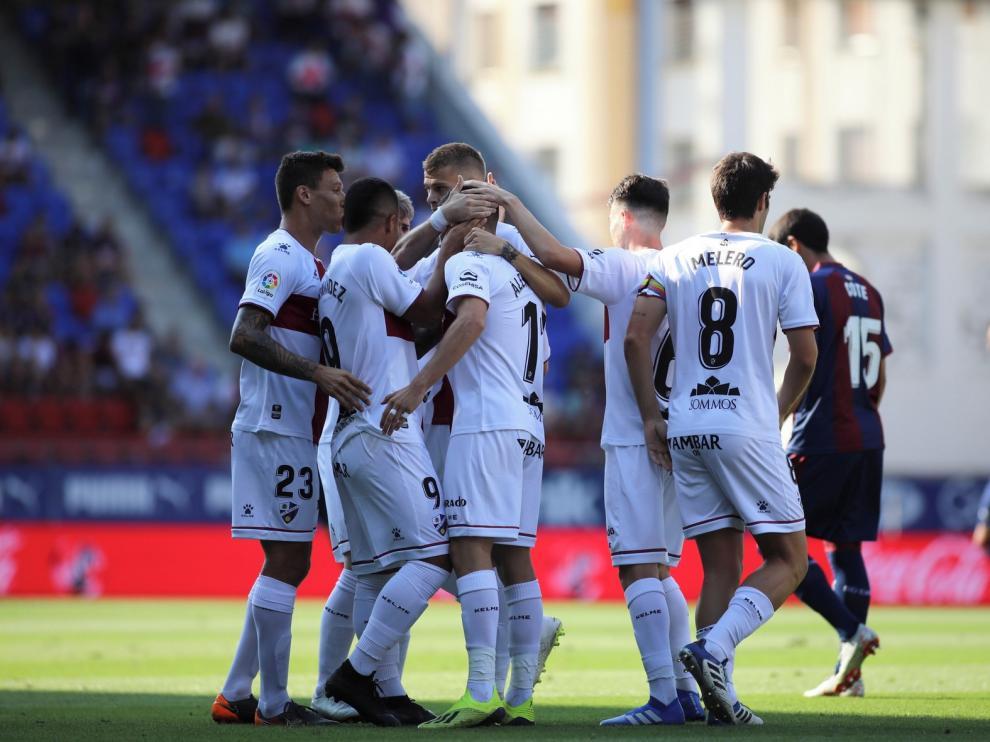 El Huesca cierra un año histórico con el ascenso a Primera División