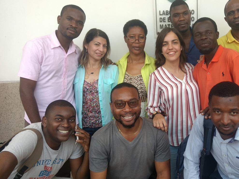 La ayuda oscense llega hasta Maputo gracias al impulso de Beatriz Bueno