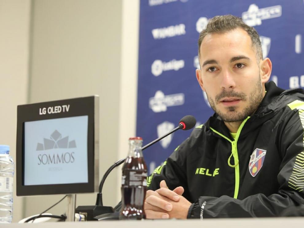 """Ferreiro: """"En el Huesca me siento un jugador importante"""""""