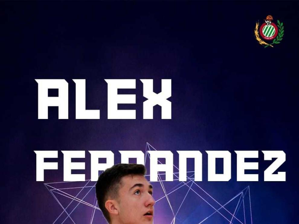 Álex Fernández disputa el Nacional Cadete