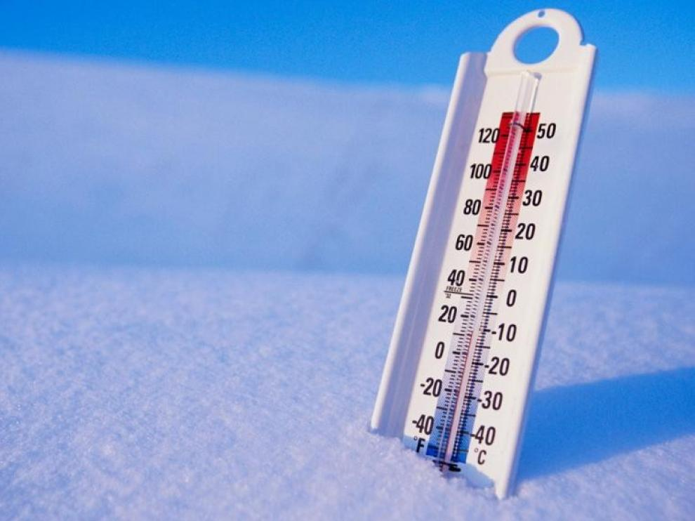 El año cominenza con bajas temperaturas en toda la provincia registrando Sabiñánigo -5,7