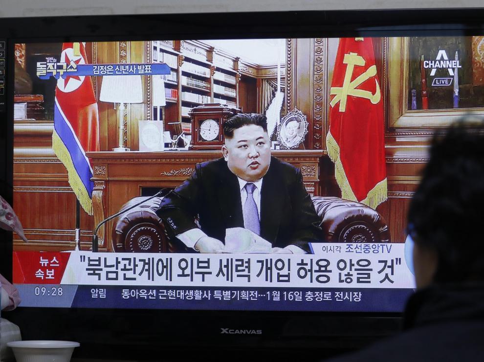 """Kim Jong-un pide no acabar con la """"paciencia"""" del régimen de Pionyang"""