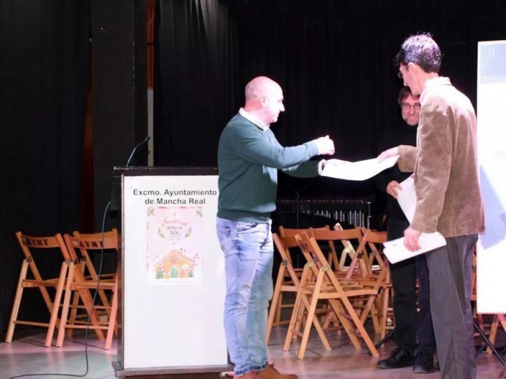"""Alejandro Alagón, Premio de poesía """"Villa de Mancha Real"""""""