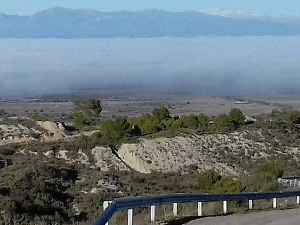 Las temperaturas máximas de la provincia se concentran en el Pirineo de Huesca