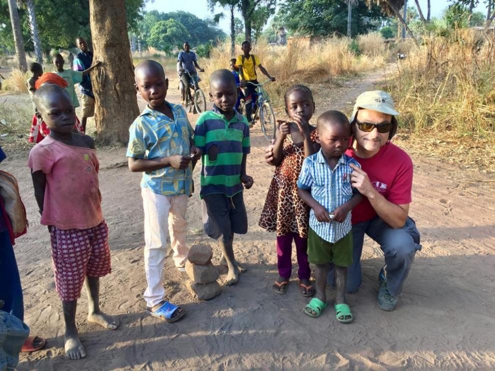 """Enrique Ripoll: """"Los niños de Chad sufren de cataratas, lo impensable aquí"""""""