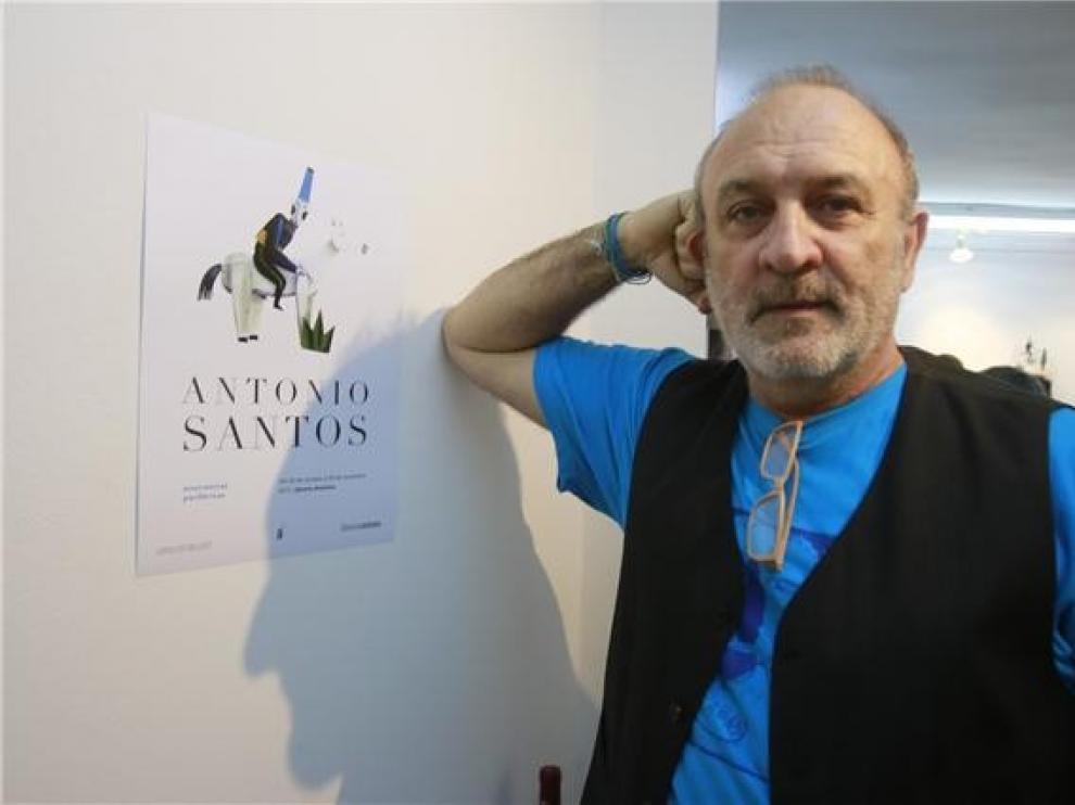 """Antonio Santos, autor del """"calendario-joya"""" de 2019"""