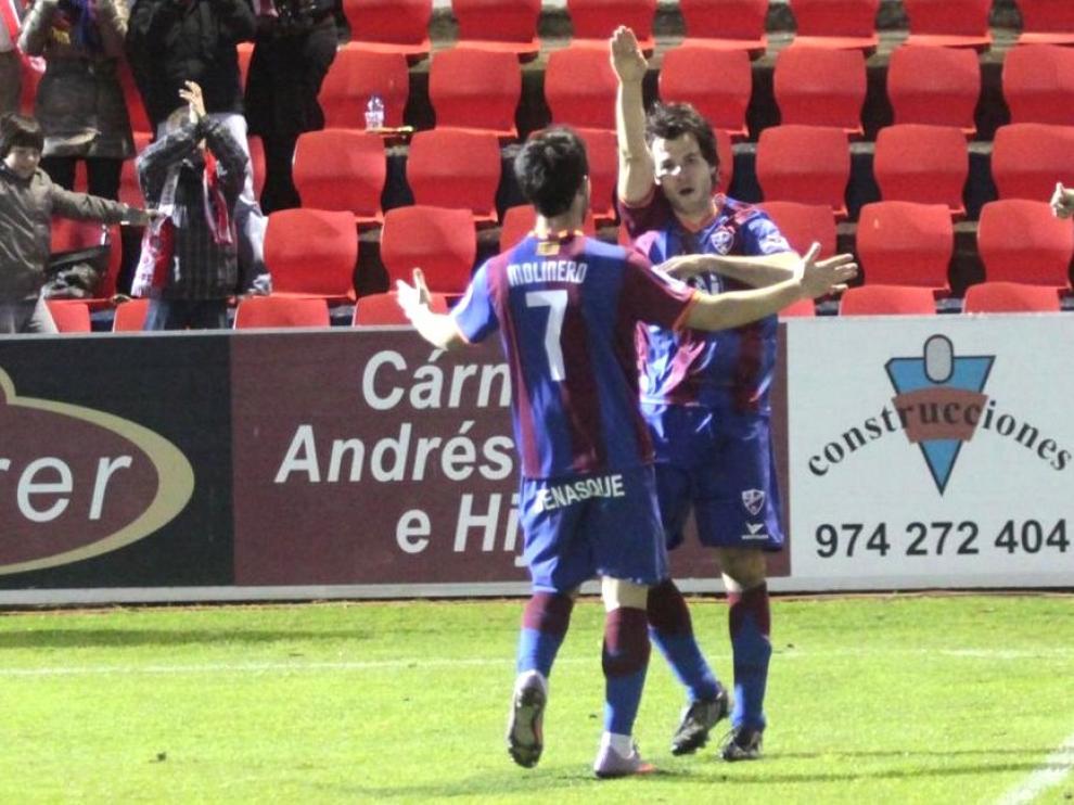 Dos empates, dos derrotas y tres goles de Camacho, los precedentes del Huesca ante el Betis