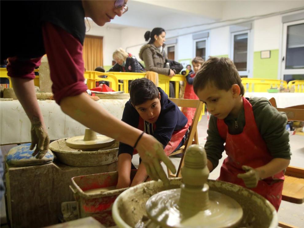 La diversión para los niños de Huesca continúa en el Guirigay Plus