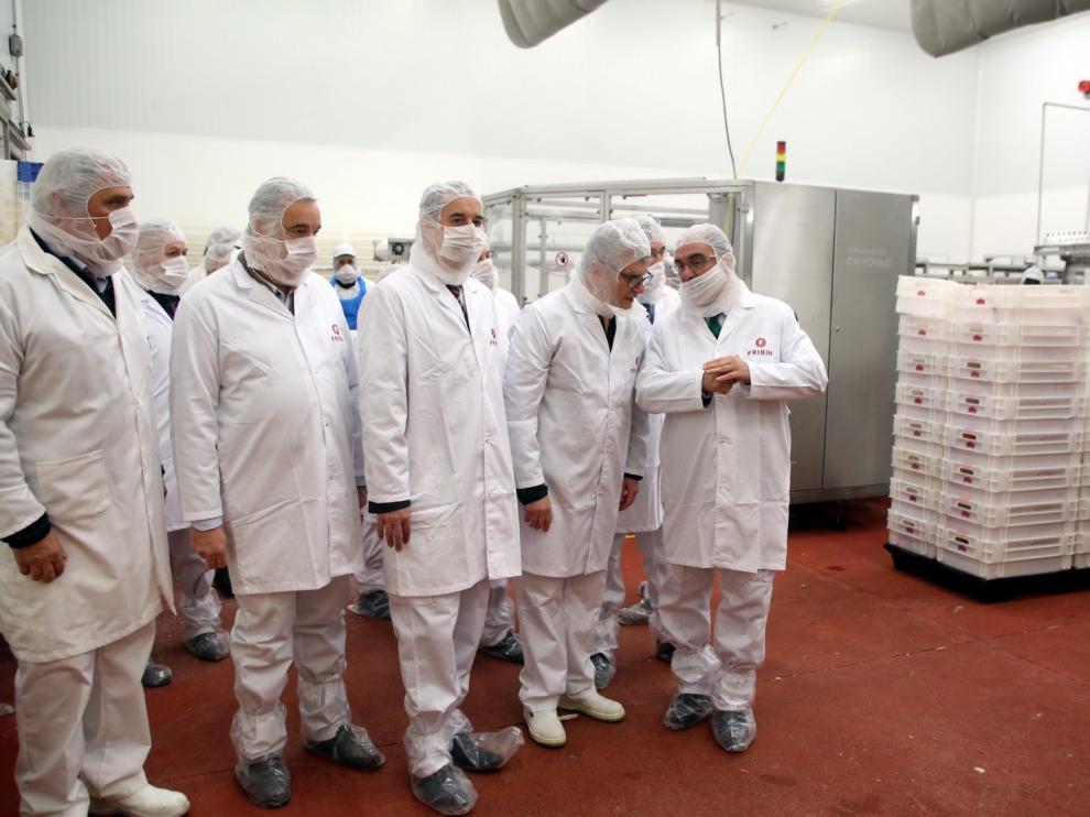 La empresa Fribin tendrá lista en 2020 la ampliación de su planta