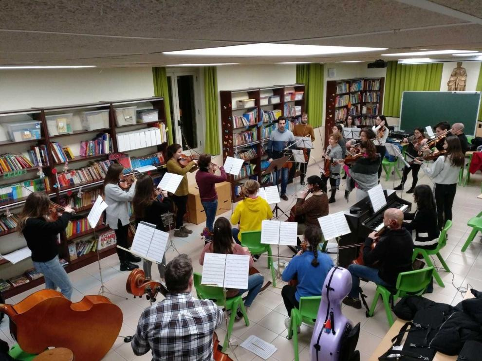 La Orquesta de Cámara de Huesca recibe el Año Nuevo