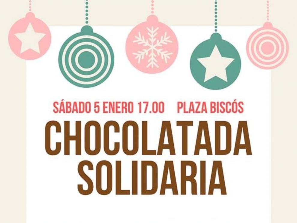 La peña Enta Debán de Jaca organiza una chocolatada a favor de Aspanoa