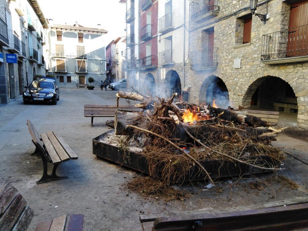Rituales ancestrales en Campo