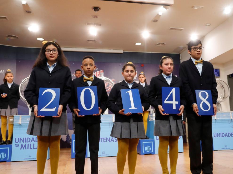 Sabadell, afortunada con el tercer premio del Niño, el 20.148