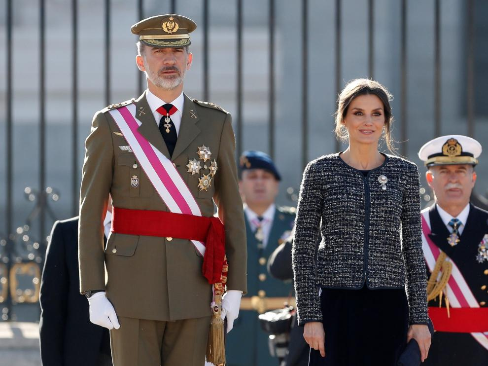 """El Rey Felipe VI reivindica la bandera como símbolo """"de todos"""""""