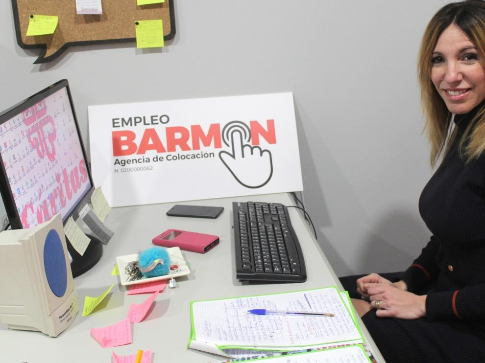 "Cristina Puente: ""Acompañar al demandante de empleo distingue a Barmon"""