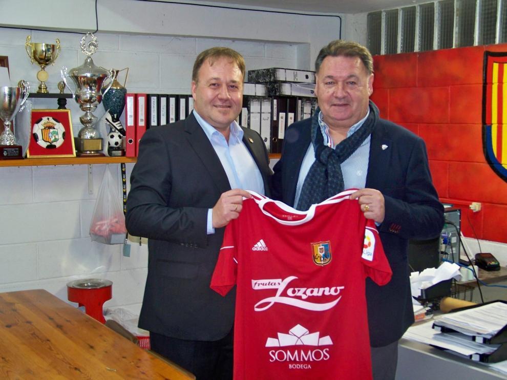 El Huesca firma un convenio de colaboración con el Fraga