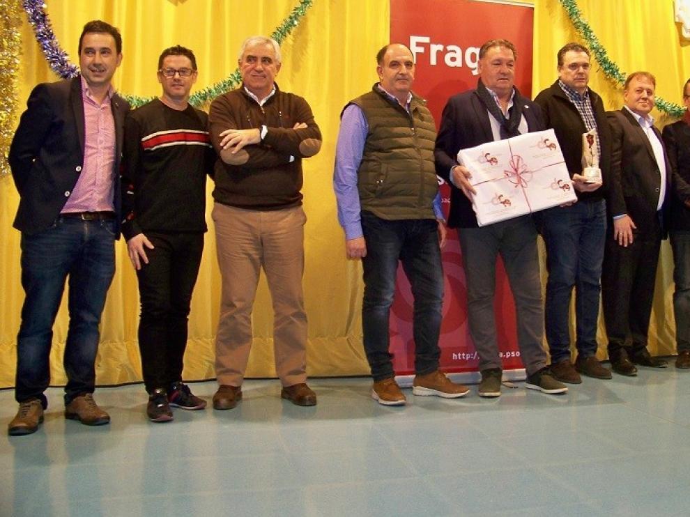 El PSOE premia la unión del fútbol base fragatino con el Ernest Lluch 2018