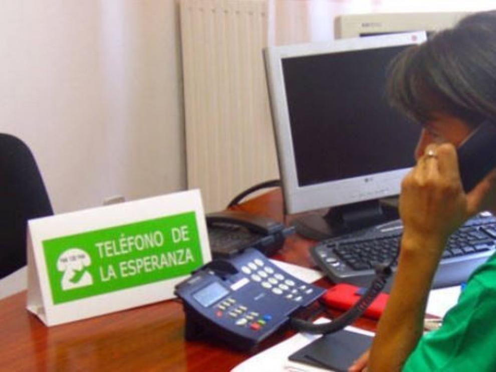 El Teléfono de la Esperanza atendió 113.410 llamadas en 2018