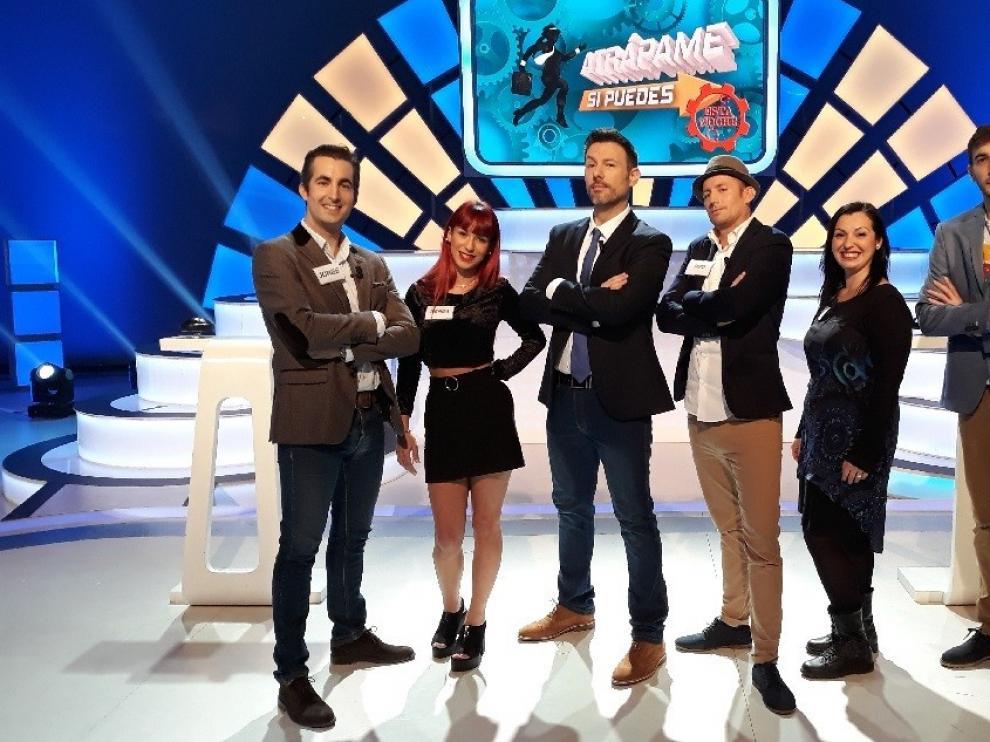 """Comienza en Aragón TV otra temporada de """"Atrápame si puedes esta noche"""""""