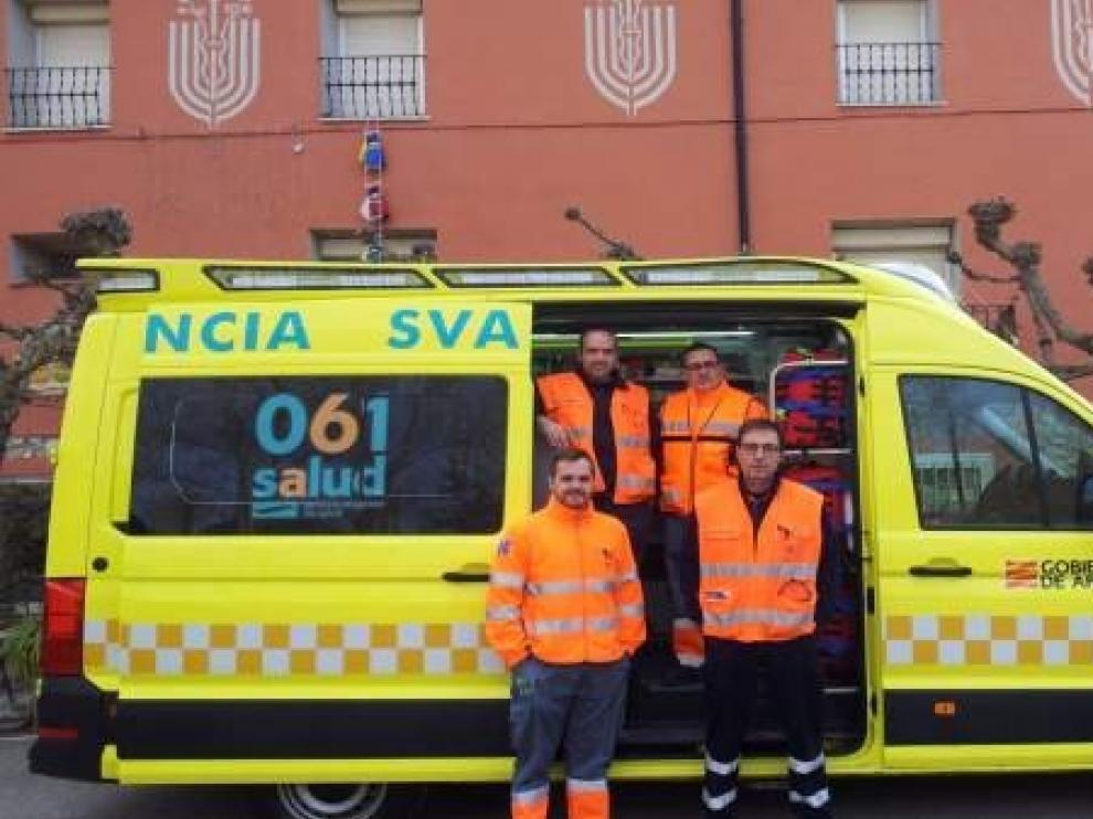 Las comarcas de Sobrarbe y Ribagorza cuentan desde este martes con una Unidad Móvil de Emergencias