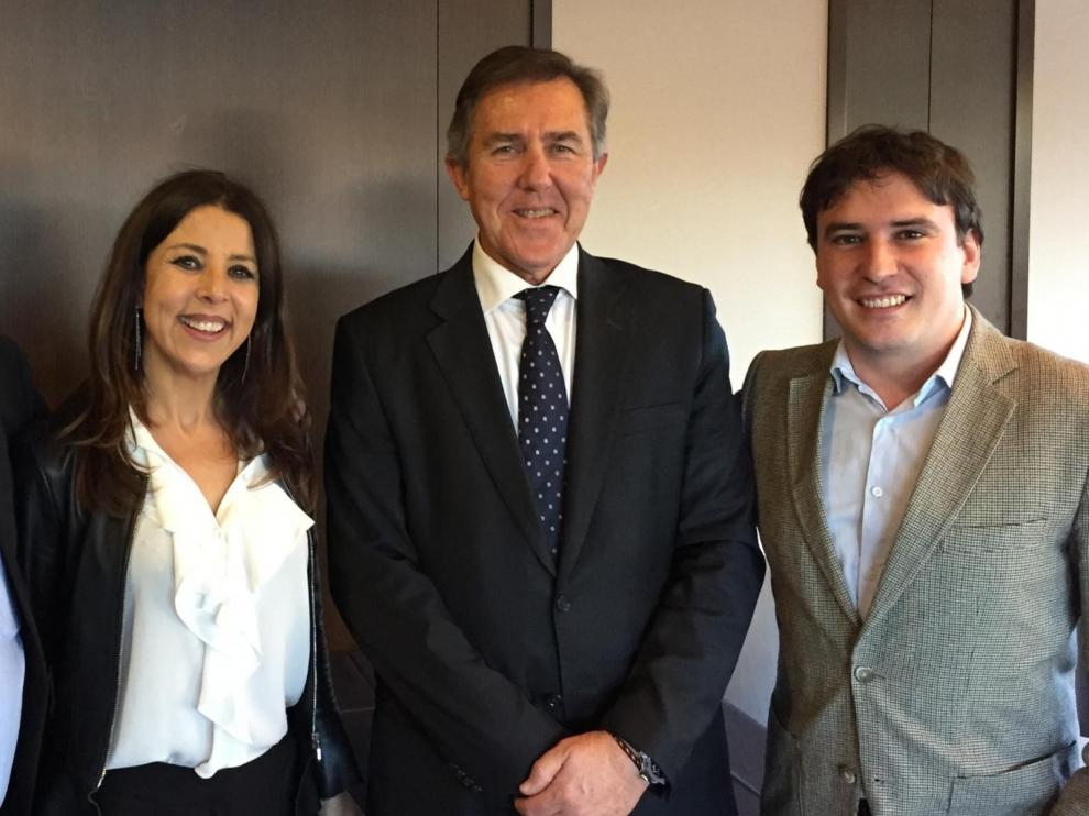 David Lafuente y Nita Macia, en el Comité de Responsabilidad Social Corporativa de la Federación de Fútbol