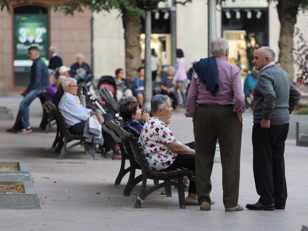 El 82 % del aumento del censo de Huesca ciudad es de mayores de 40 años