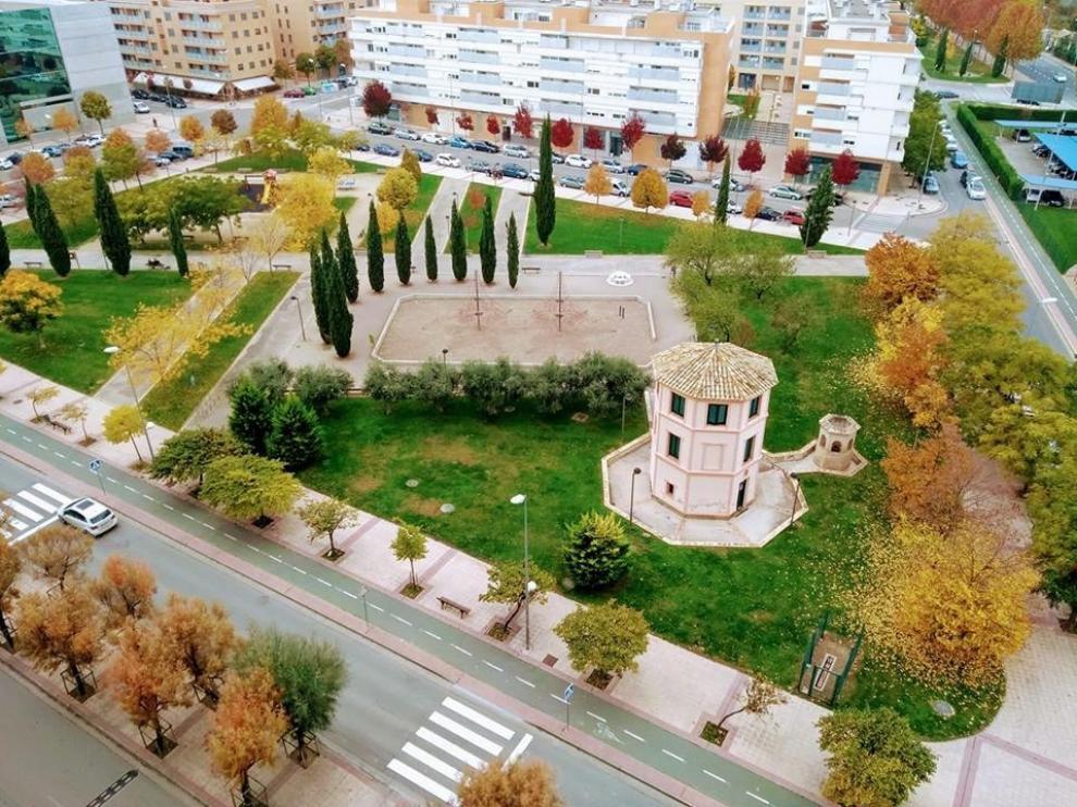 Se produce un reventón en la zona de María Auxiliadora de Huesca