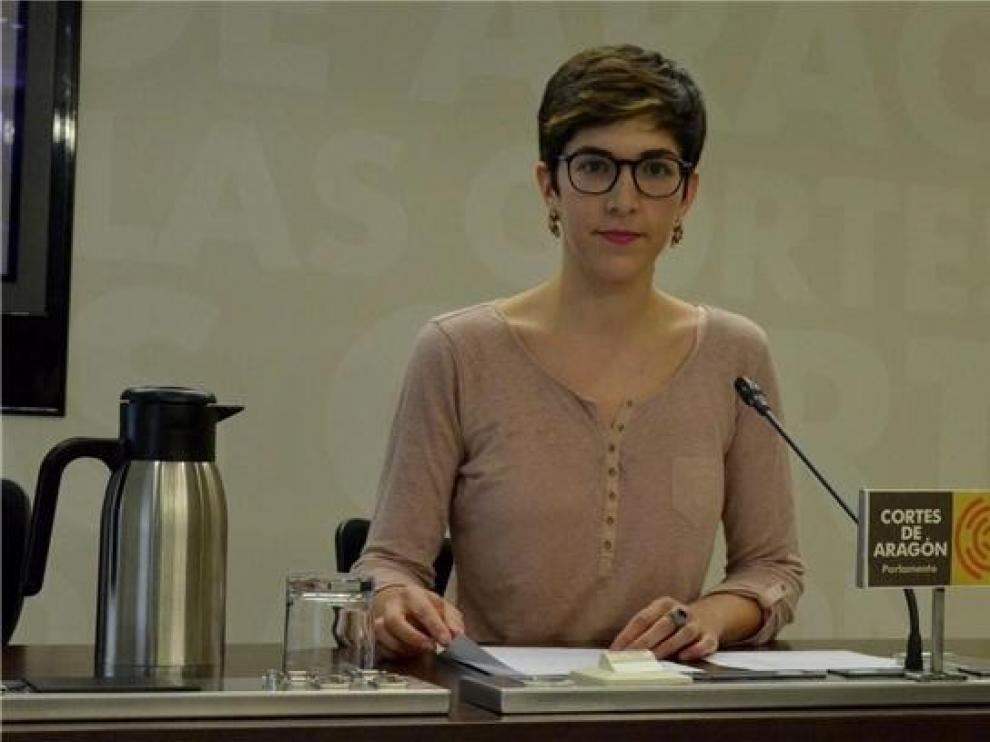 Violeta Barba concurrirá a las primarias para el Ayuntamiento de Zaragoza