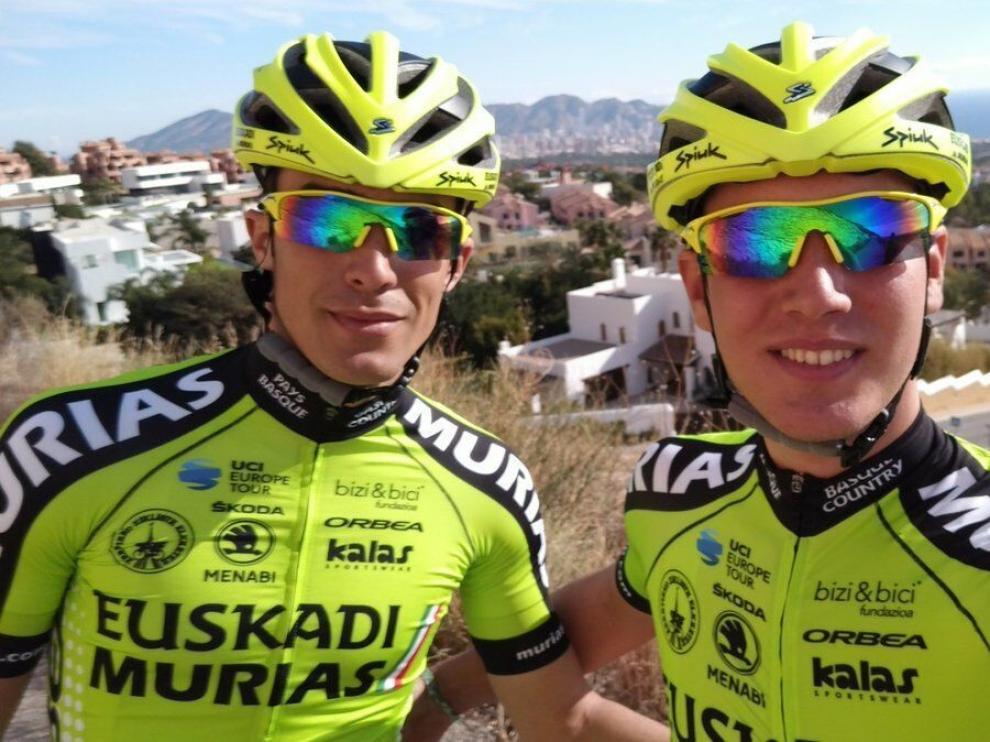 Samitier y Barceló se concentran en Benidorm con el Euskadi Murias