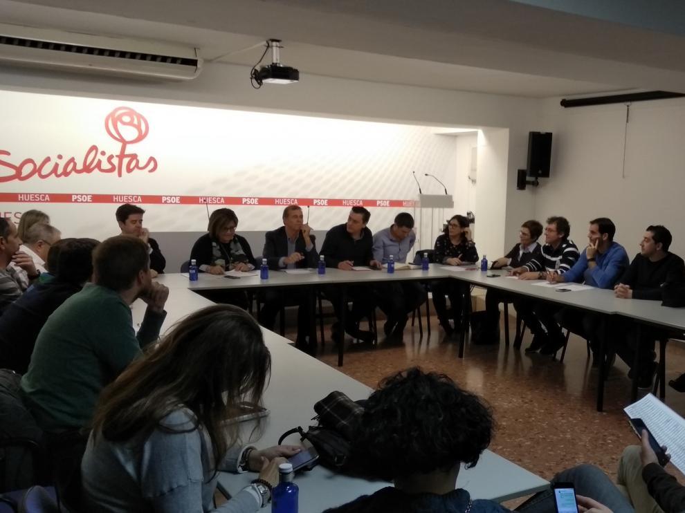 El PSOE del Alto Aragón continúa la puesta a punto para las elecciones de mayo