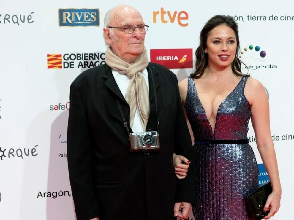 Carlos Saura entregará este sábado en Zaragoza un premio Forqué