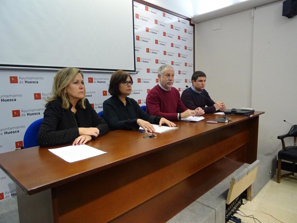 Contacta vuelve a Huesca para propiciar relaciones entre empresas y alumnos de talleres de empleo