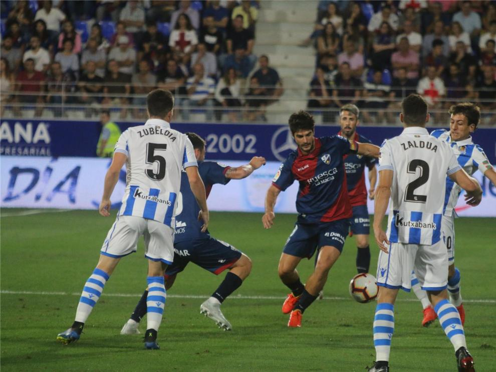 El Huesca visita a la Real Sociedad el 27 de enero a las 18:30 horas