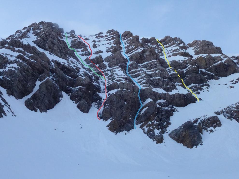 Agentes del Greim de Boltaña rescatan a tres personas en dos intervenciones en la montaña