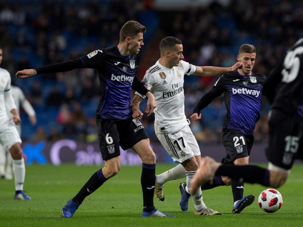 El Leganés no puede con el Real Madrid
