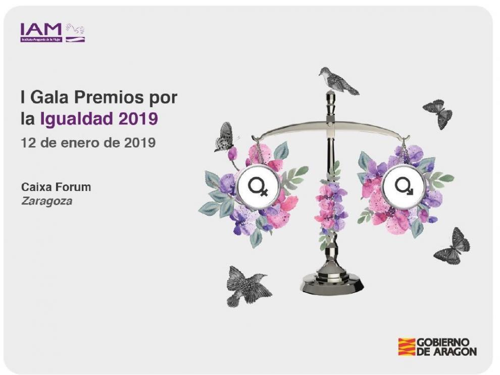El IAM organiza los I Premios por la Igualdad en Aragón