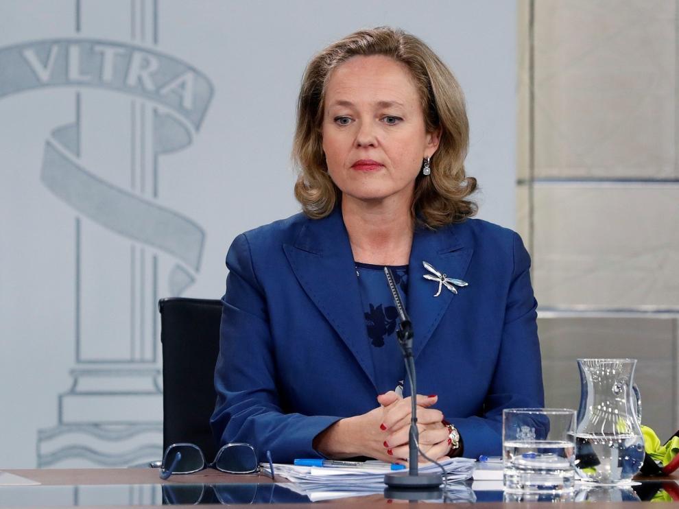 """El Gobierno rebaja al 2,2% la previsión del PIB para 2019 por el """"mayor ajuste"""" fiscal"""